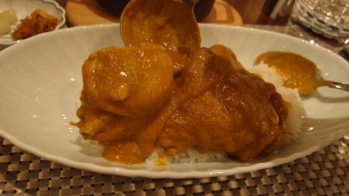 銀座咖喱堂 宮崎日南鶏のバターチキンカレー