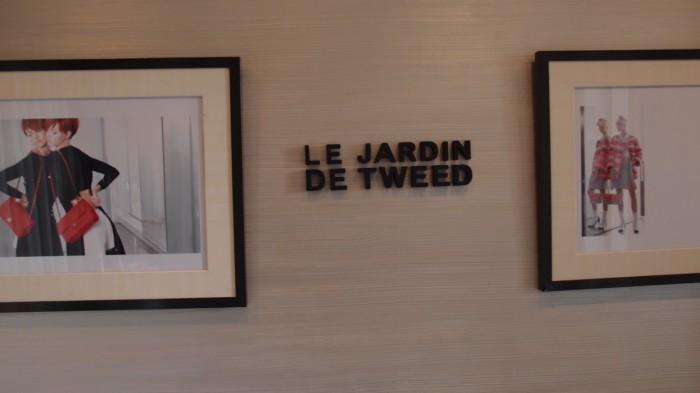 Le Jardin de Tweed 看板