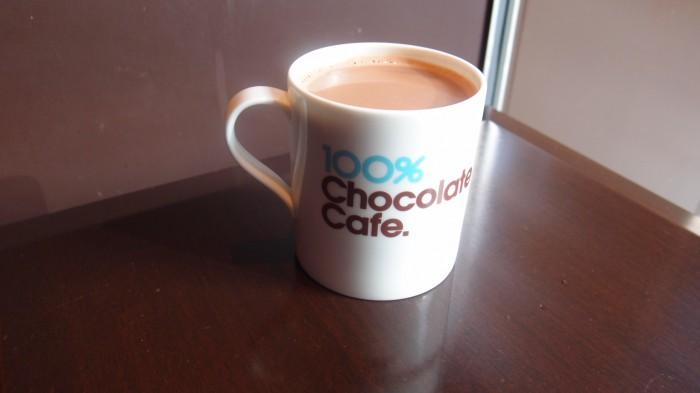 100%チョコレートカフェ ショコラドリンク