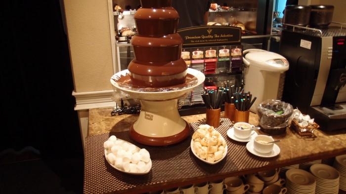 バッカーナ チョコレートフォンデュ