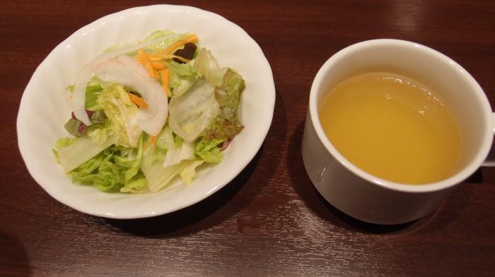 いきなり!ステーキ6丁目店 スープサラダ