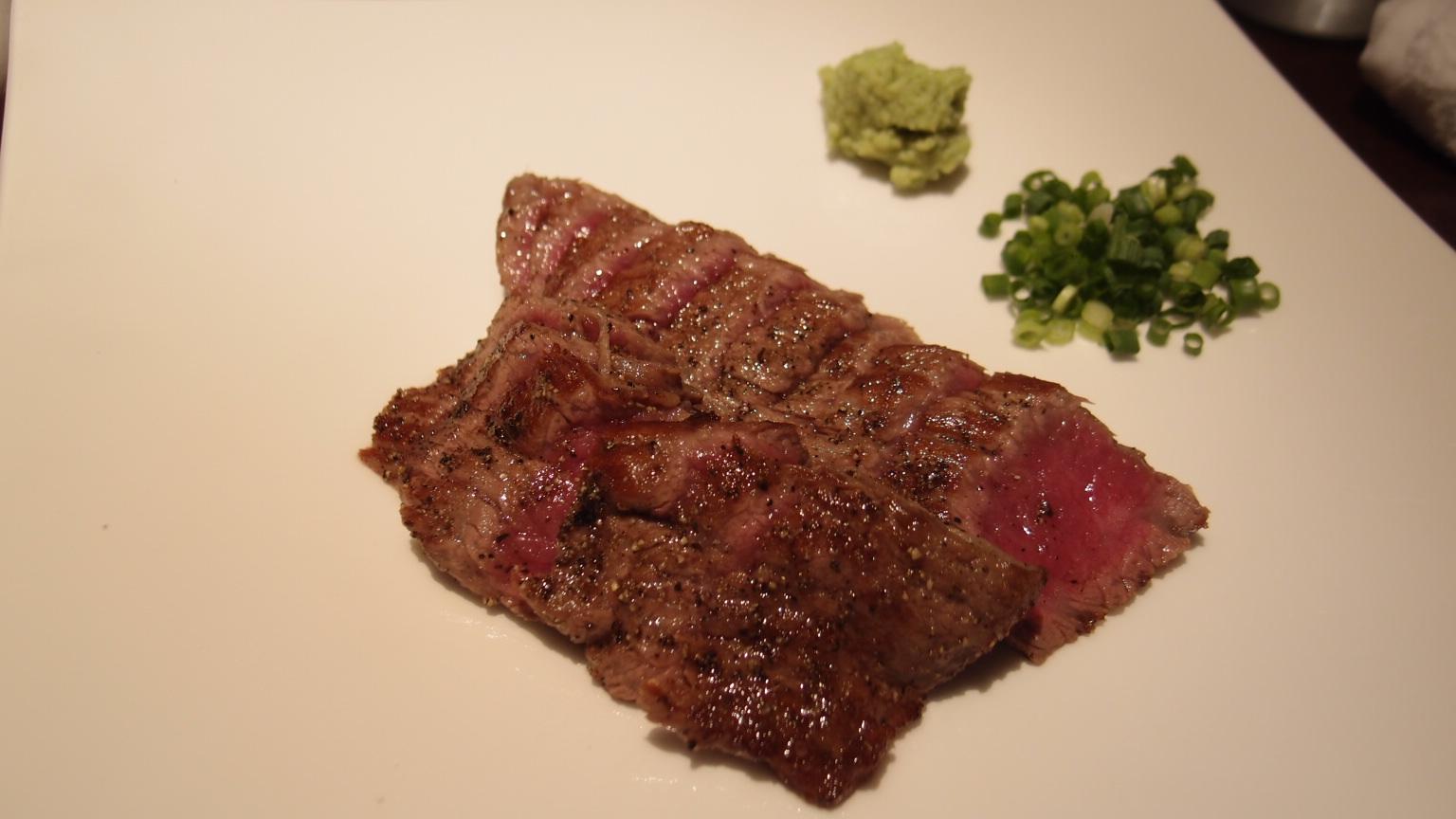 銀座 煙事 仙台牛ステーキ丼