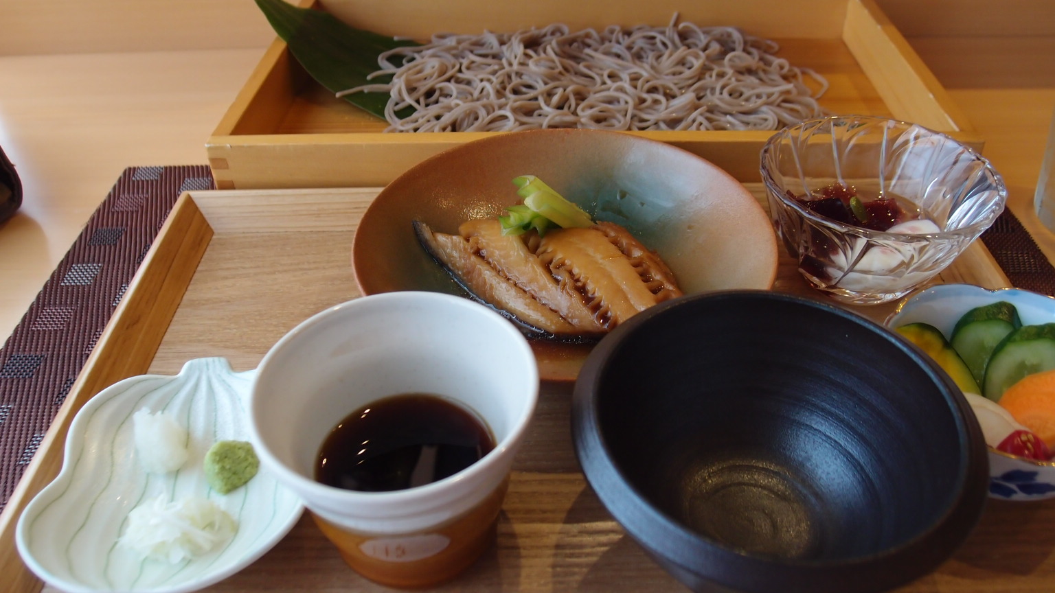 銀座 い組 蕎麦御膳