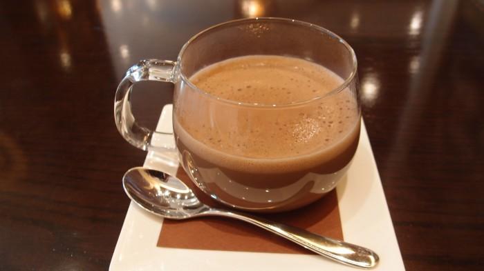 リンツ ショコラ カフェ ショコラスペキュロスドリンク