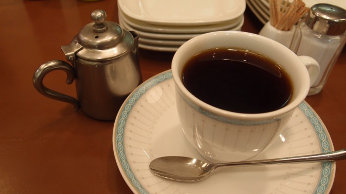トリコロール@銀座ファイブ コーヒー