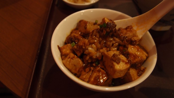 過門香歩高里(ブルゴーニュ) 麻婆豆腐丼