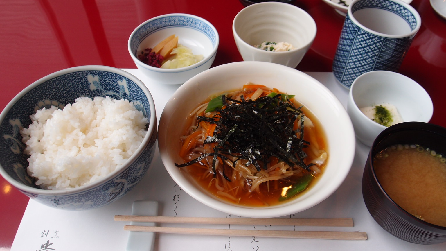 銀座 貴舟 煮魚定食