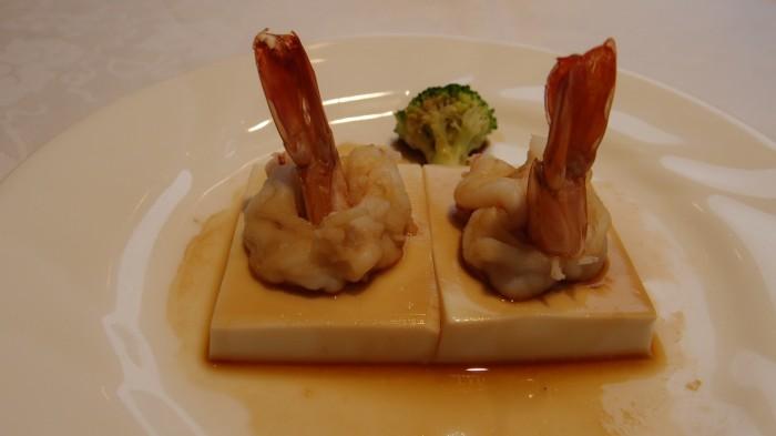 敦煌(TONKOU) 車海老の豆腐のせ