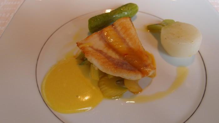 ベージュ・アランデュカス 魚料理