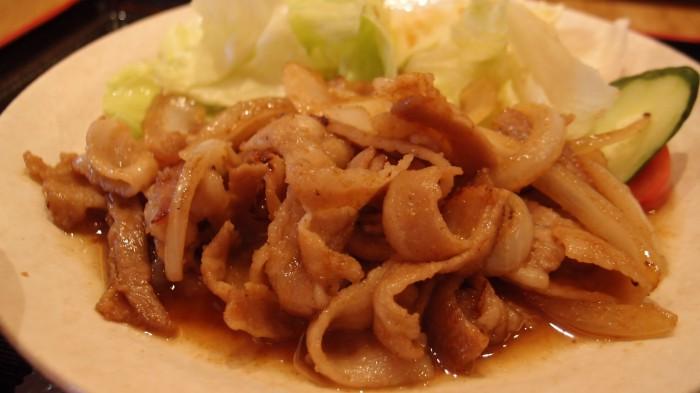 喜皿 豚の生姜焼き