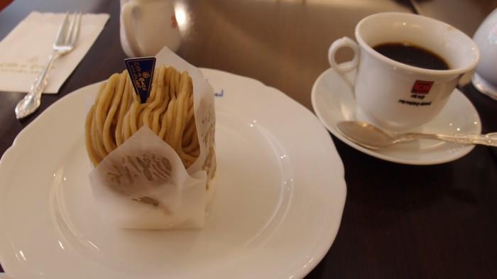 みゆき館本店(CAFE de GINZA MIYUKI-KAN) ケーキセット