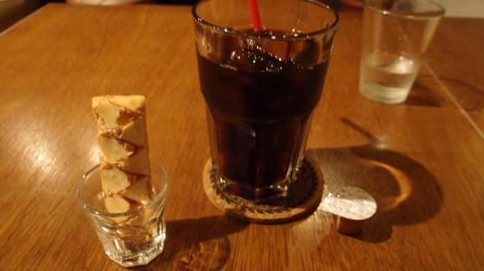 Rudies Cafe Lounge アイスコーヒー
