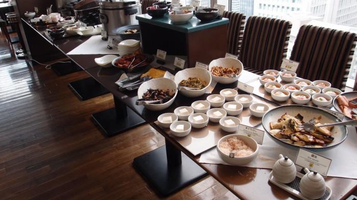 TENQOO@ホテルメトロポリタン 和食ビュッフェエリア
