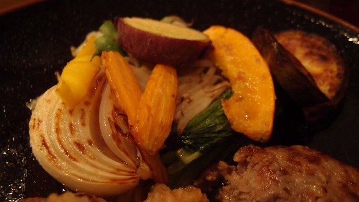 和縁 付け合わせ野菜焼き