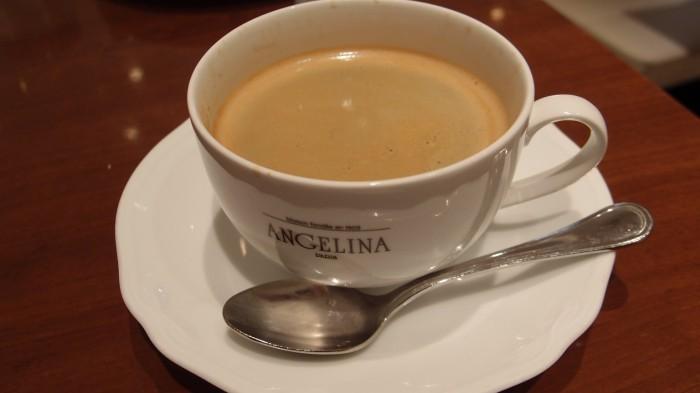 サロン・ド・テ・アンジェリーナ コーヒー