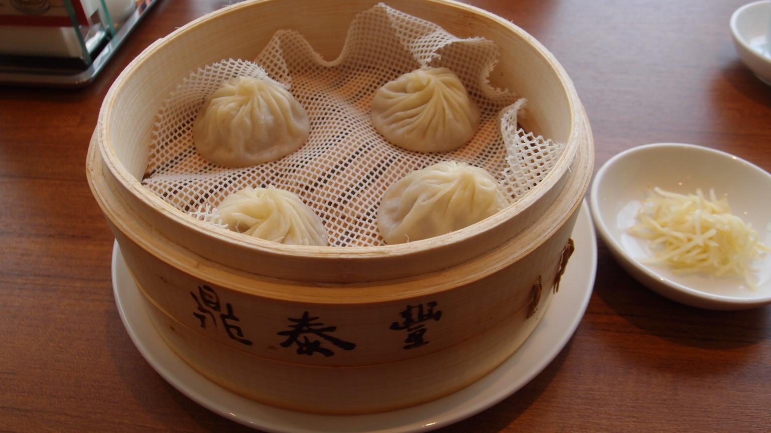 銀座 鼎泰豐(ディンタイフォン) 海老麺セット