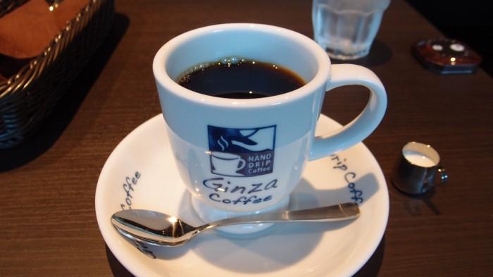 銀座珈琲店 ブレンドコーヒー