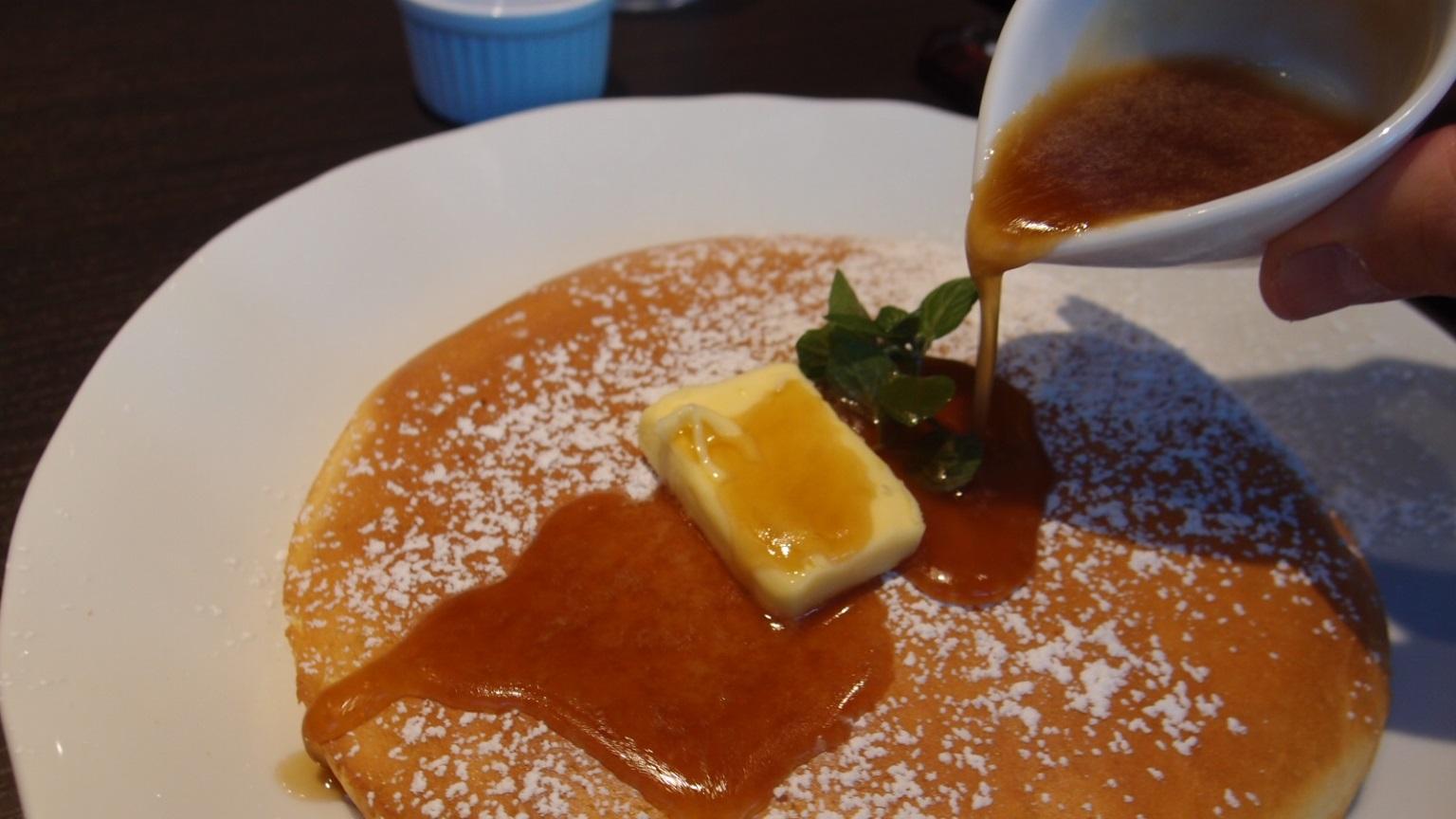 銀座 銀座珈琲店 メープルバターパンケーキ