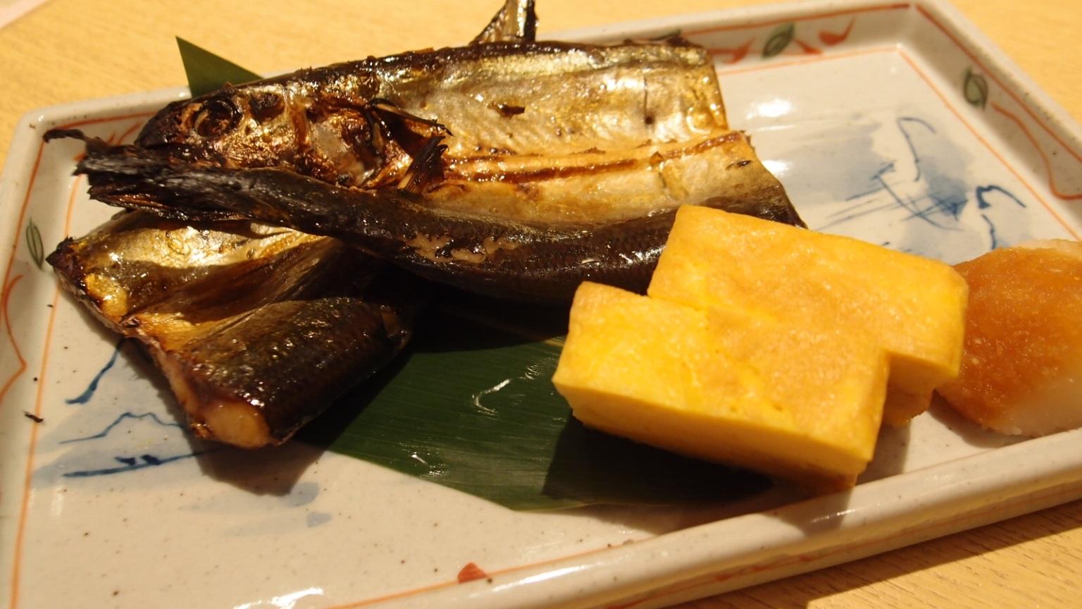 銀座 割烹バル八寸 焼き魚ランチ