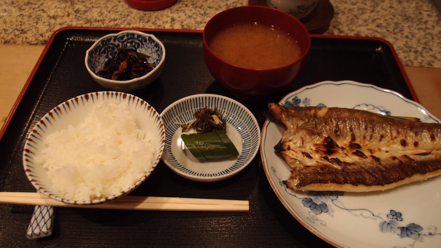 銀座 三亀 焼物(1品選び)