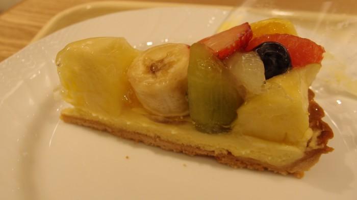 D'elices tarte&café フルーツタルト
