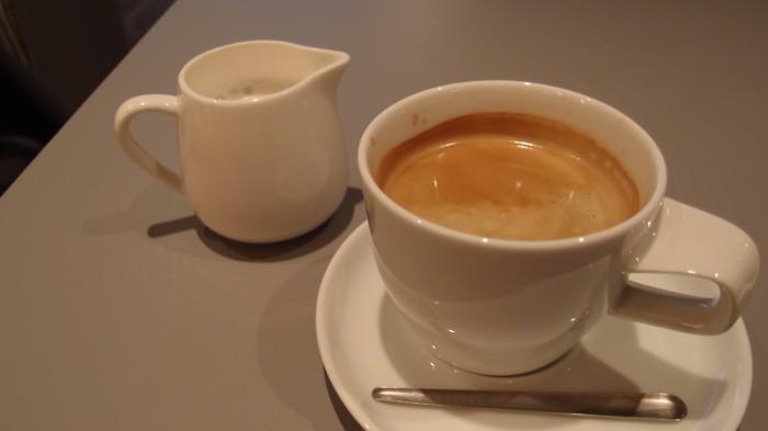 MERCER BRUNCH GINZA TERRACE コーヒー