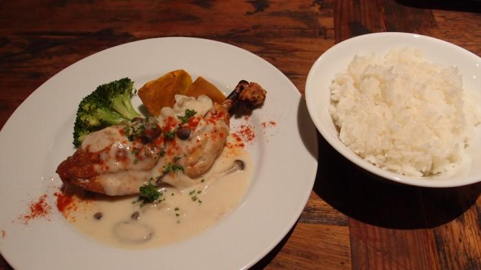 BARNEA GRILL 鶏のもも肉のグリル
