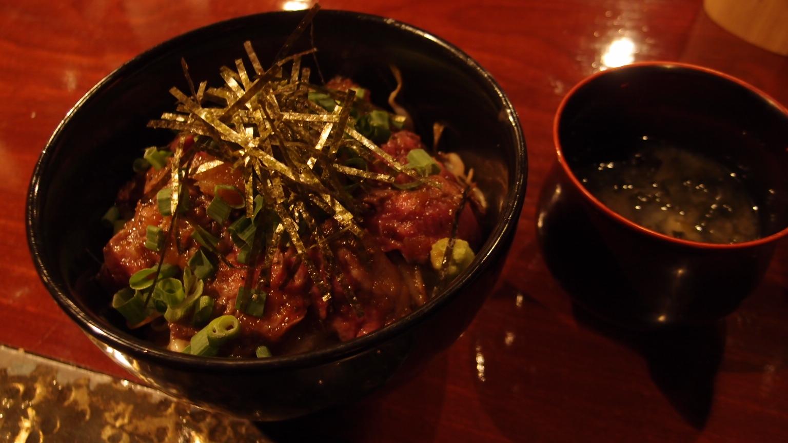 銀座 日々輝 ステーキ丼