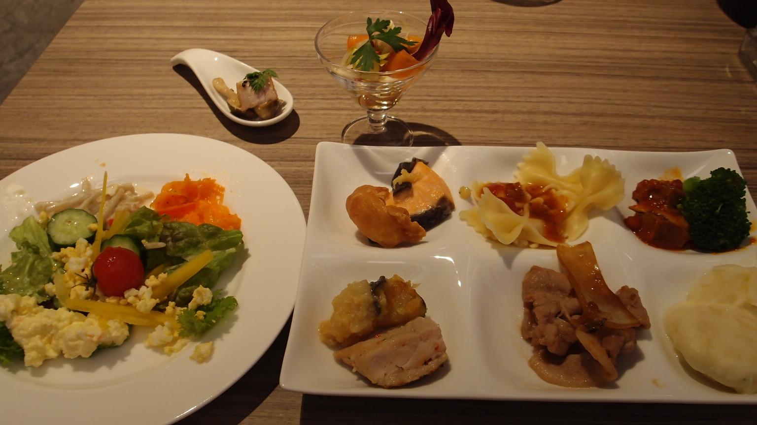 銀座 ALL DAY DINING NiKO GINZA@ミレニアム三井ガーデンホテル ランチビュッフェ