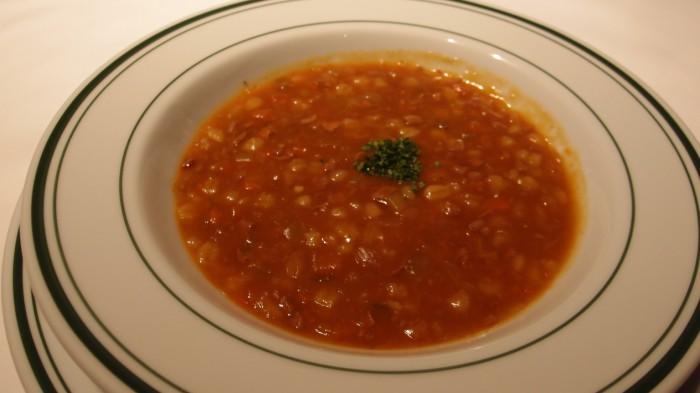 ウルフギャング・ステーキハウス 本日のスープ